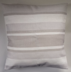 "Cushion Cover in Laura Ashley Awning Stripe Dove Grey 14"" 16"" 18"" 20"""